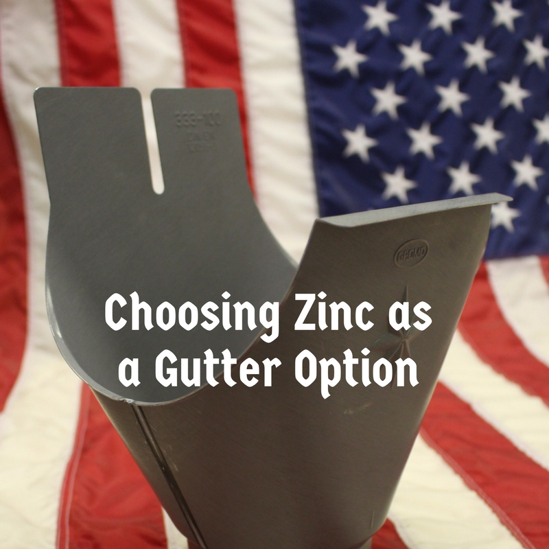 Choosing Zinc as a Gutter Option