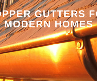 Copper Guttersfor Modern Homes