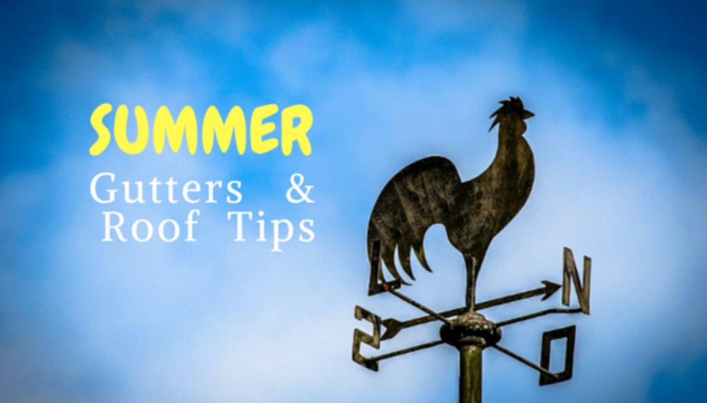 Gutter and Roof Tips