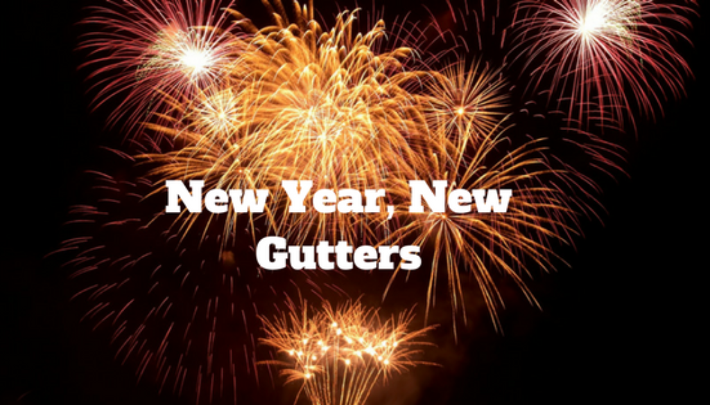 Happy New Year Gutters