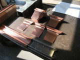 copper pieces