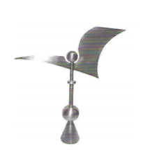 Abstract Weathervane Finial 2