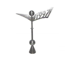 Abstract Weathervane Finial 3