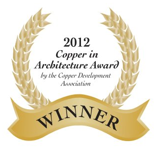 2012 copper in architecture award