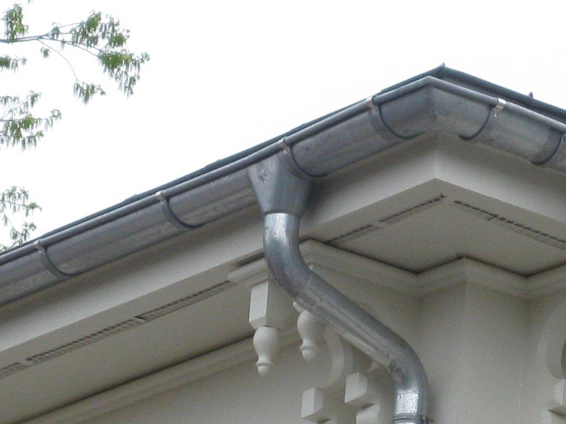 Advantages Of Zinc Gutters Ornametals Manufacturing Llc