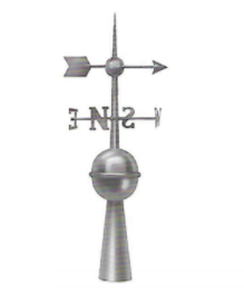 Compass and Arrow Finial 1