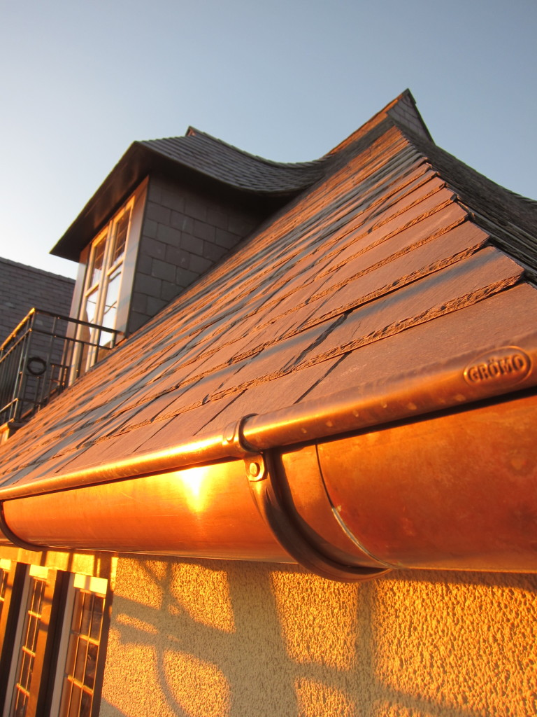 Copper Rain Gutters Rainwater Systems And Parts