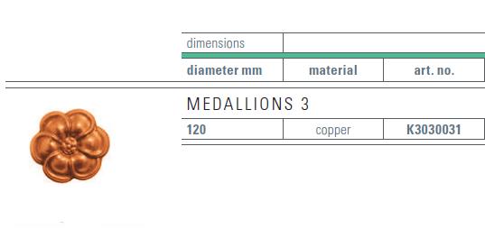 copper medallion