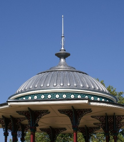 Kiosque, Clappham Common (Angleterre)