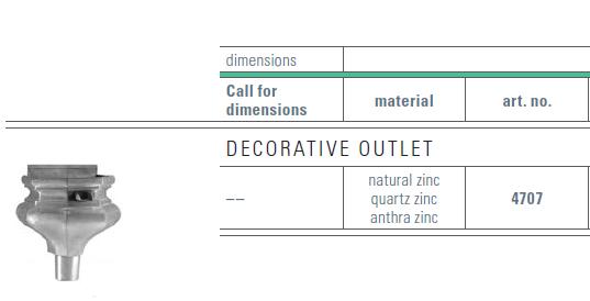 zinc outlet