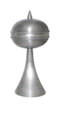 Pointed Ball Finial 2