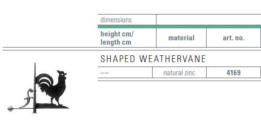 zinc weathervane