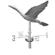 Stamped Goose Weathervane