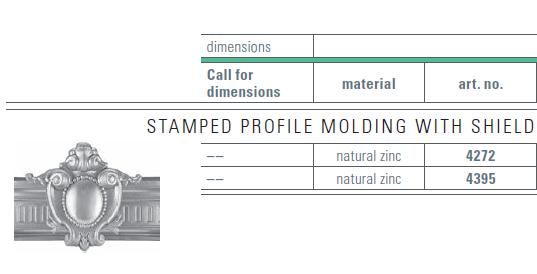 zinc molding