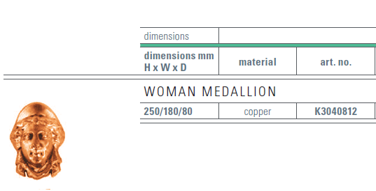 copper medallion